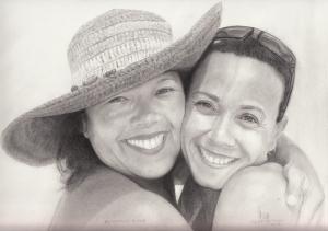 Christine and Kim